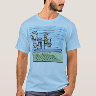 Air Boat Cartoon Shirt