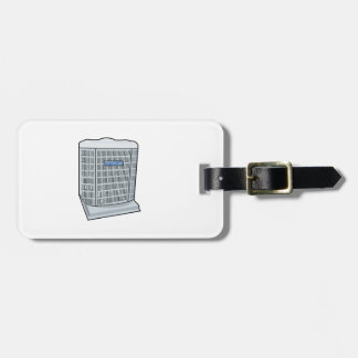 Air Conditioner Unit Ice Cold AC Heat Pump Luggage Tag
