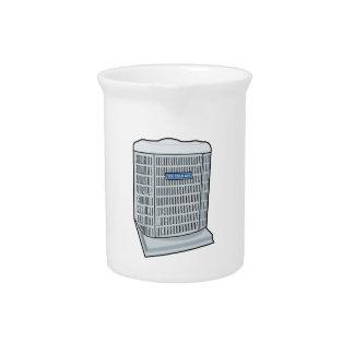 Air Conditioner Unit Ice Cold AC Heat Pump Pitcher