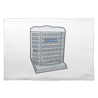Air Conditioner Unit Ice Cold AC Heat Pump Placemat