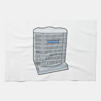 Air Conditioner Unit Ice Cold AC Heat Pump Tea Towel