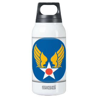 Air Corps Military Emblem 0.3L Insulated SIGG Thermos Water Bottle