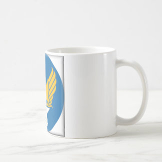 Air Corps Military Emblem Basic White Mug