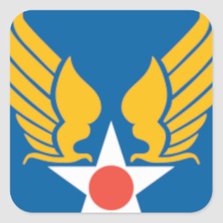 Air Corps Military Emblem Sticker