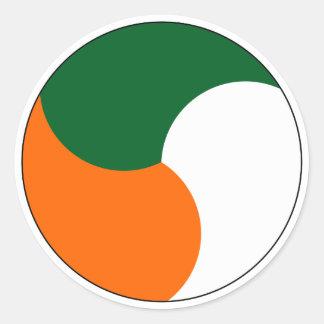 Air Corps of Ireland Round Sticker