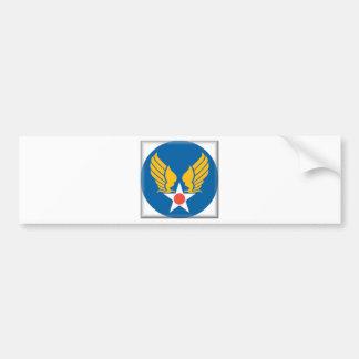 Air Corps Shield Car Bumper Sticker