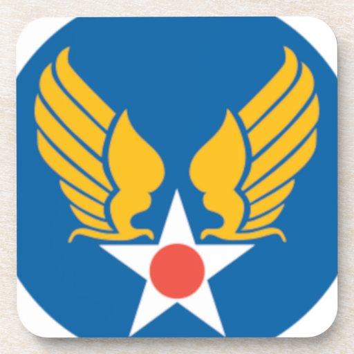 Air Corps Shield Beverage Coaster