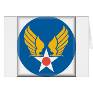 Air Corps Shield Greeting Card