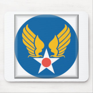 Air Corps Shield Mousepads