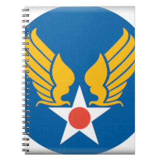 Air Corps Shield Note Books