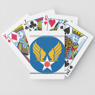 Air Corps Shield Playing Cards