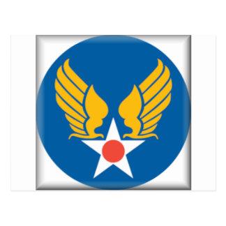 Air Corps Shield Postcard