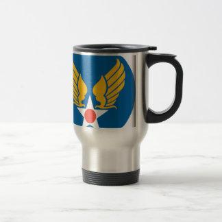 Air Corps Shield Stainless Steel Travel Mug