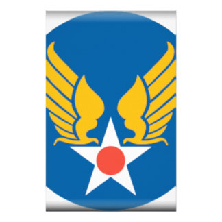 Air Corps Shield Stationery