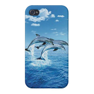 Air Dolphin iPhone 4 Case