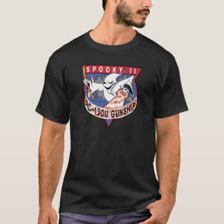 Air Force AC-130U Spooky II OEF OIF Gunship Patch T-Shirt