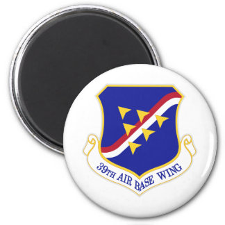 Air Force Air Base Wing 6 Cm Round Magnet