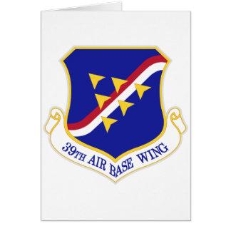 Air Force Air Base Wing Greeting Card