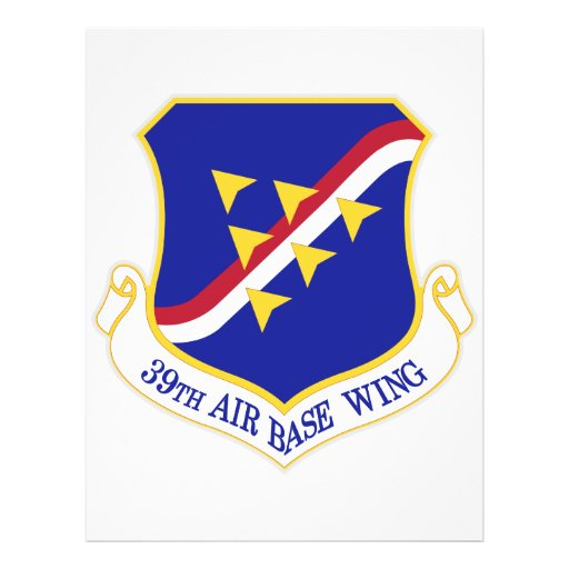 Air Force Air Base Wing Custom Flyer