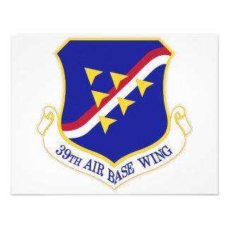 Air Force Air Base Wing Custom Invitations