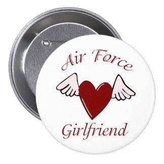 Air Force Angel Girlfriend Pin