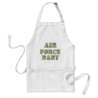 Air force baby aprons