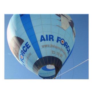 Air Force Balloon Invites