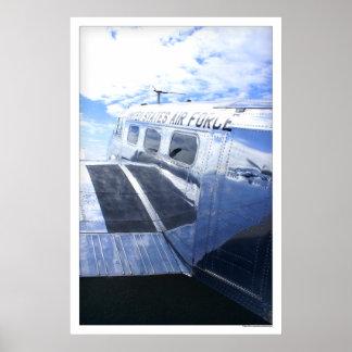 Air Force Beechcraft 18 / C45 Poster