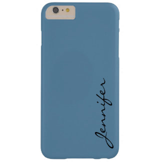 Air Force blue (raf) color background Barely There iPhone 6 Plus Case