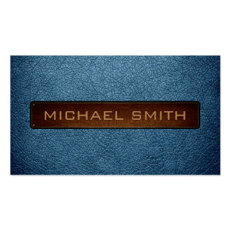 Air Force blue (RAF) Leather Look Professional Pack Of Standard Business Cards