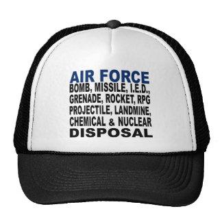 Air Force Bomb etc. Disposal Cap