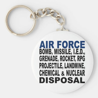 Air Force Bomb etc. Disposal Key Ring