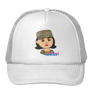 Air Force Camo Head Medium Trucker Hat