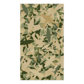 Air Force Camouflage Bookmark Pack Of Standard Business Cards