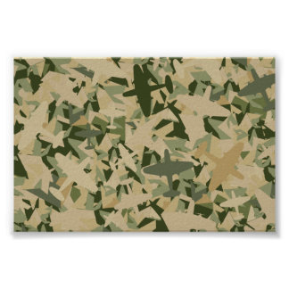 Air Force Camouflage Framed Print