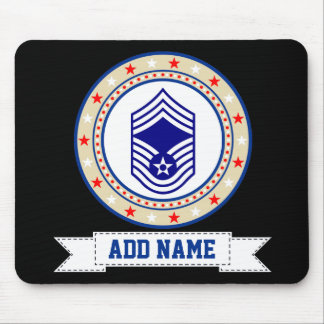 Air Force Chief Master Sergeant E-9 CMSgt Mouse Pad