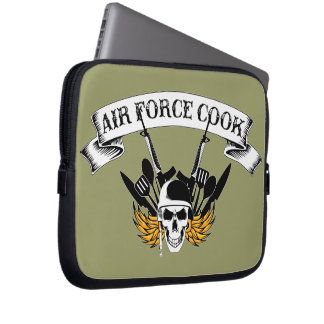 Air Force Cook Laptop Sleeve