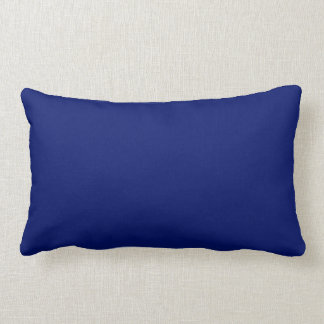 AIR FORCE DARK BLUE (solid colour background) ~ Lumbar Pillow