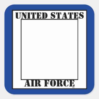 Air Force E-6 TSgt Slogan Square Sticker