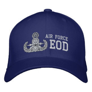 Air Force EOD Master Embroidered Hat