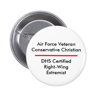 Air Force Extremist Button