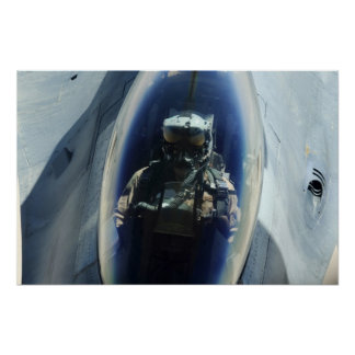 Air Force F-16 Pilot Print