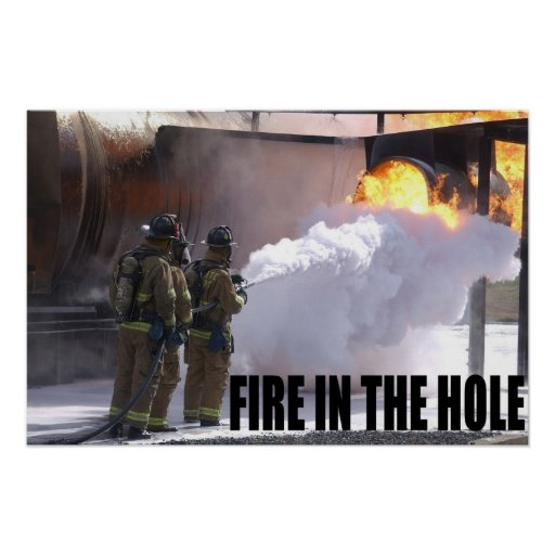 Air Force Firefighters Print