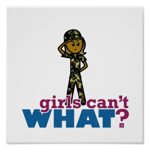 Air Force Girl Poster