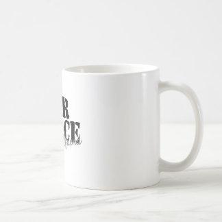 Air Force Girlfriend Basic White Mug