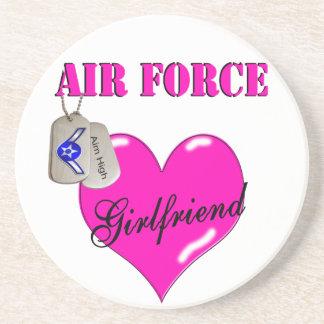 Air Force Girlfriend  Coaster
