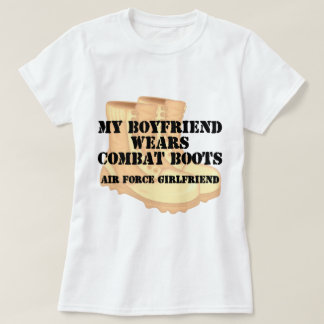 Air Force Girlfriend Desert Combat Boots Shirt