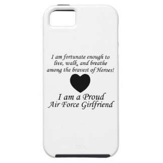 Air Force Girlfriend Fortunate iPhone 5 Cover