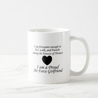 Air Force Girlfriend Fortunate Mugs
