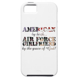 Air Force Girlfriend Grace of God iPhone 5 Cover